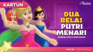 Download Video Dua Belas Putri Menari cerita anak anak animasi kartun MP3 3GP MP4