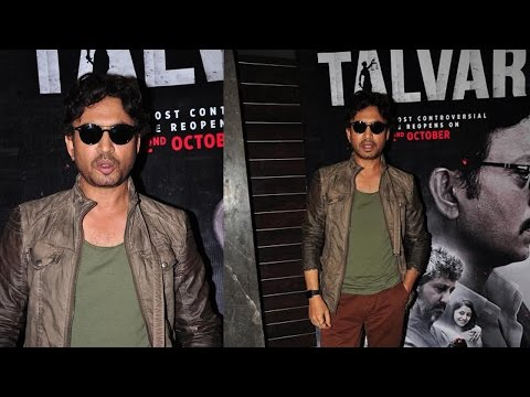 The Power In Script Of Talvar Made Me Sign The Film: Irrfan Khan