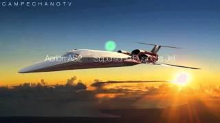Aviones prototipo con tecnología de punta
