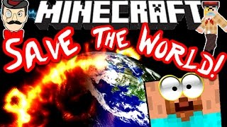 Minecraft DISASTER MAP! Save the World from Destruction!