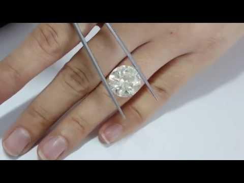 10 CARAT ROUND NATURAL J SI2 LOOSE DIAMOND FOR ENGAGEMENT RING 10.65 CT