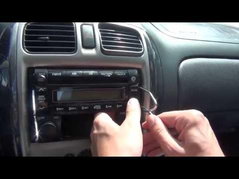 Mazda demio 2001 radio фото