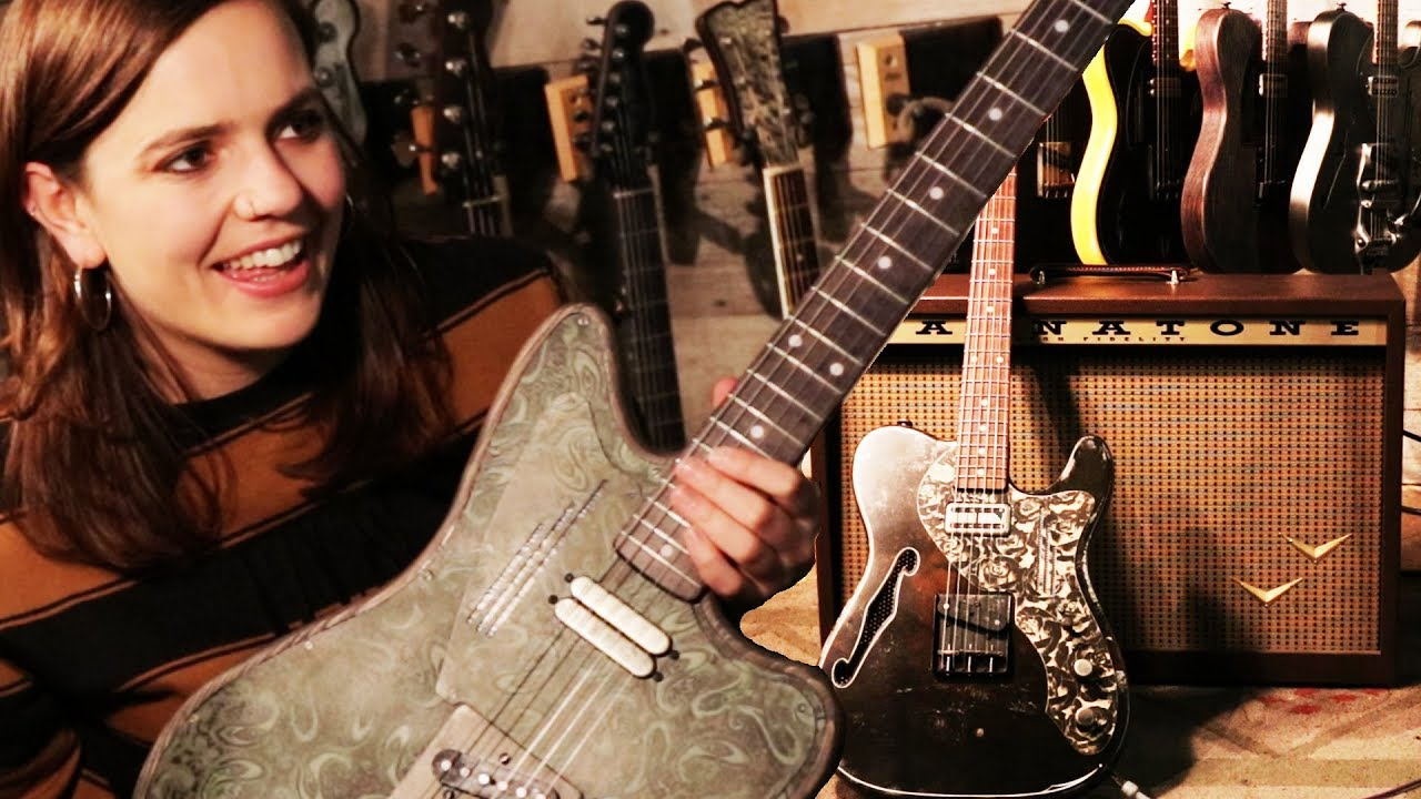 These electric guitars are made out of STEEL!