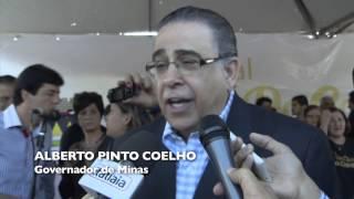 VÍDEO: Governador anuncia novo acesso viário em Brumadinho
