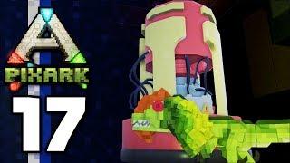 PixARK • STEEL TOOLS Upgrade! Secret Underground Ruins! (Ep.17)