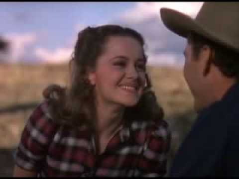 Errol Flynn & Olivia De Havilland Love Scene In DODGE CITY