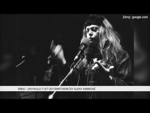 TV Brno 1: 20.12.2017 Uplanulo 7 let od úmrtí herečky Aleny Ambrové