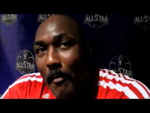 Karl Malone on the 90's Rockets and Hakeem Olajuwon