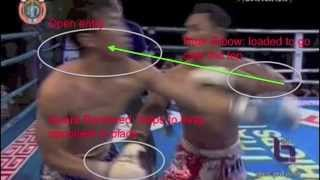 Saenchai: Cross-Arm Trapping Into Elbow