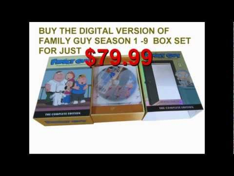 BUY FAMILY GUY SEASONS 1 - 9 COMPLETE DIGITAL BOX SET FOR JUST 79.99