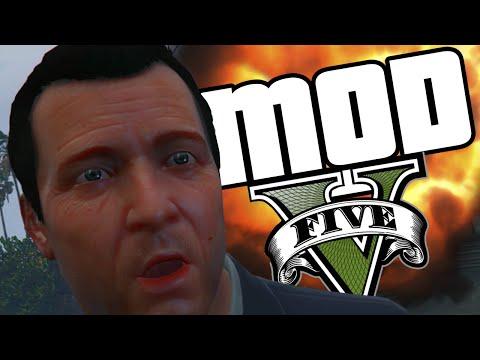GTA V PC - MOD Super Força видео