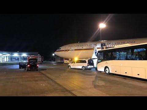 Αναγκαστική προσγείωση για το αεροσκάφος της Μέρκελ