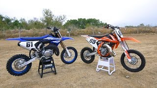 3. Yamaha YZ65 versus KTM 65SX - Dirt Bike Magazine