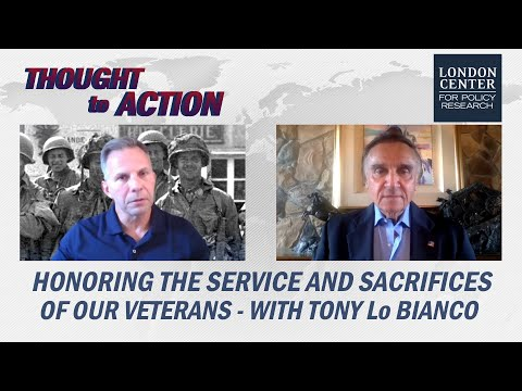 Honoring the Service and Sacrifices of Our Veterans - with Tony LoBianco