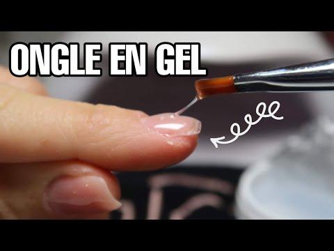 Gel nails - TUTO COMMENT FAIRE SES ONGLES EN GEL ?Avec des capsules