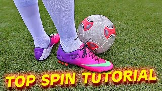 How to shoot a Top Spin Dip Free Kick like Bale & Ronaldo by f...