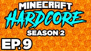 • FINDING NETHERITE / ANCIENT DEBRIS!!! - Minecraft: HARDCORE s2 Ep.9 (Gameplay / Let's Play)