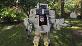 Dad Creates Mech Costume To Carry His Baby