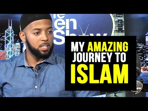 Brother Keenan Penson telling his Amazing Journey to ISLAM