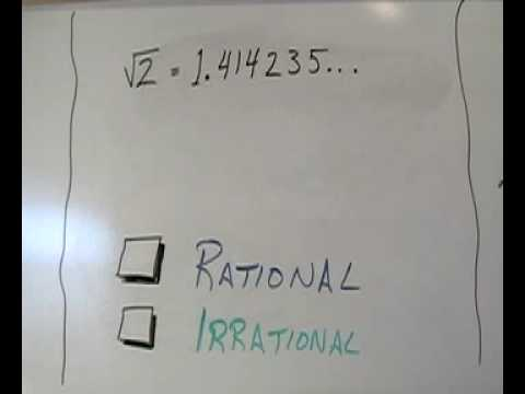rational - Animation that defines & compares rational and irrational numbers.