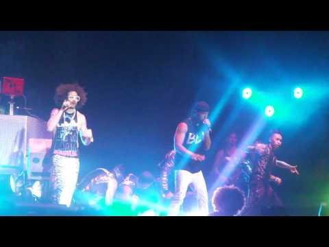 "LMFAO ""Party Rock Anthem"" HD Patriot Center Live Fairfax, Va 8/21/2011"