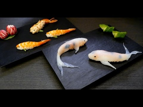 This Guy Makes Sushi That Looks Like Real-Life Koi In A Few Simple Steps