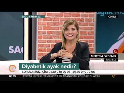 Diyabetik Ayak Tedavisi - Doç. Dr. Burçak Gümüş - Tv24