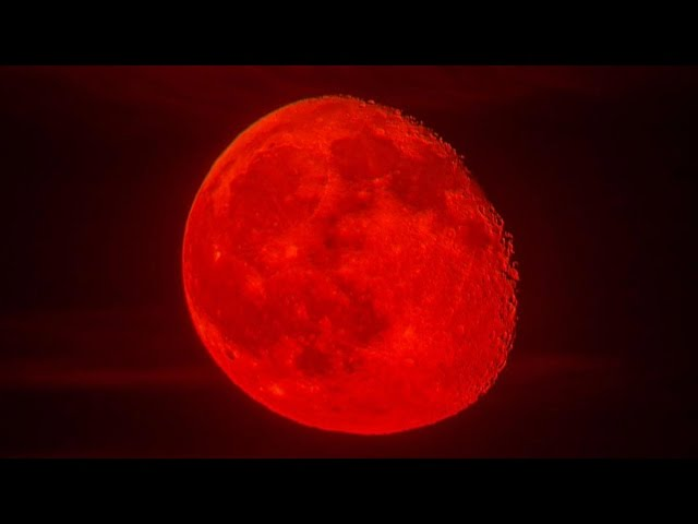 RED Moon Eclipse: Super Big Blood Moon Total Lunar Eclipse On 27-28 ...