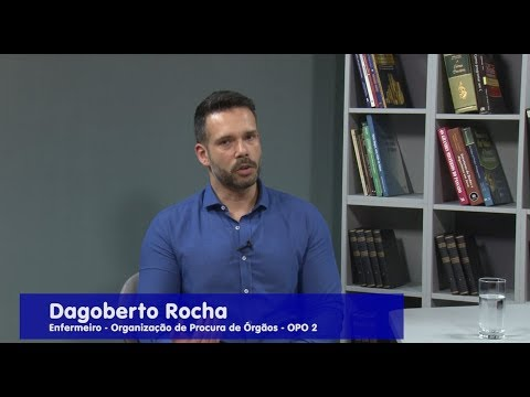 Ricardo Orlandini entrevista o enfermeiro Dagoberto Rocha da Organização de Procura de Órgãos - OPO 2 e a psicóloga Aurinez Rospide Schmitz.