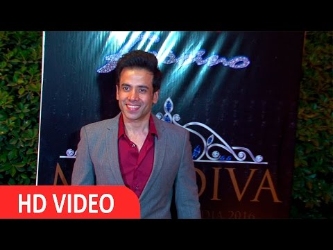 Tusshar Kapoor Spruces Up For Miss Diva 2016