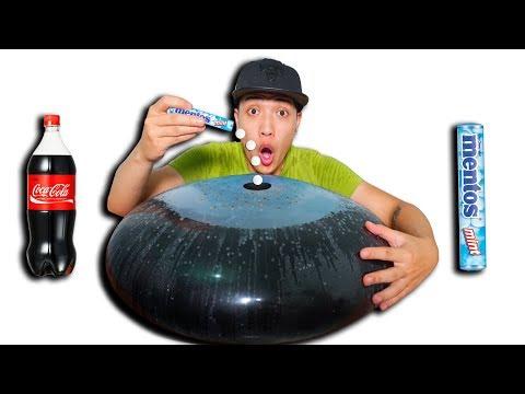NTN - Đổ 100 Viên Mentos Vào Quả Bóng Coca Cola ( Balloon Vs Coca Mentos ) - Thời lượng: 11:31.