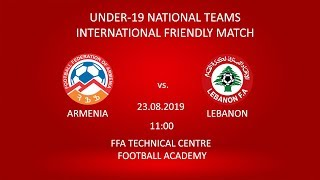 Armenia U-19 - Lebanon U-19