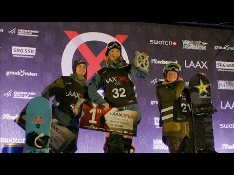 Snowboard-Weltcup: Chloe Kim fliegt bei den Laax Open ...