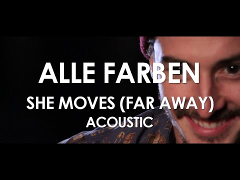 She Moves (Far Away) ft. Graham Candy – Acoustic [ Live in Paris ]
