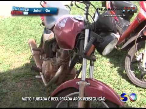 JATAÍ | Moto é recuperada após perseguição policial