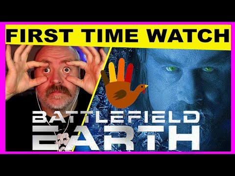 Battlefield Earth 2000 First Watch | OMG Aliens and slavery