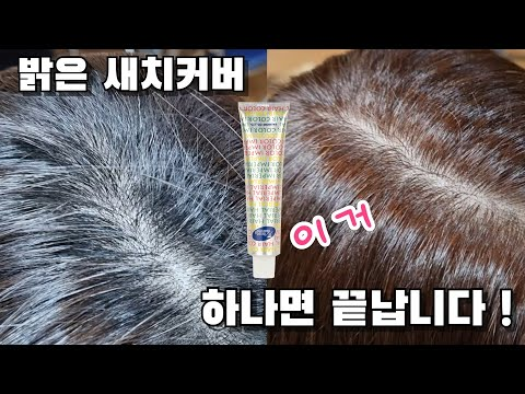 Do you want to brighten the gray hair color? (Part 2) - Bright gray hair cover treatment
