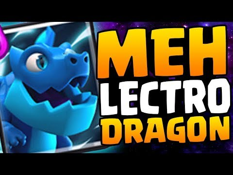 OVERPOWERED OR UNDERWHELMING? Unlocking The Electro Dragon | Clash Royale