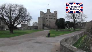 Castletown United Kingdom  City new picture : 2-Minute Britain: Rochester Castle, town and river