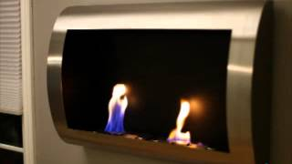 For more details or to shop this Anywhere Fireplace Chelsea Stainless Steel Indoor Fireplace, visit Hayneedle at:...