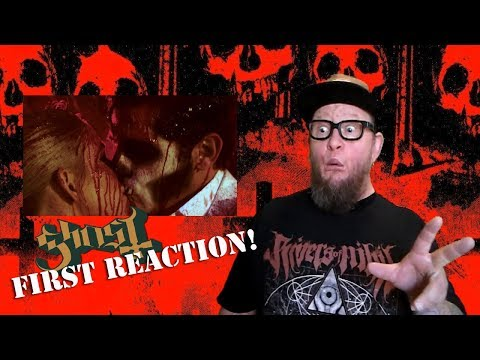 First Reaction To Ghost Dance Macabre Official Video