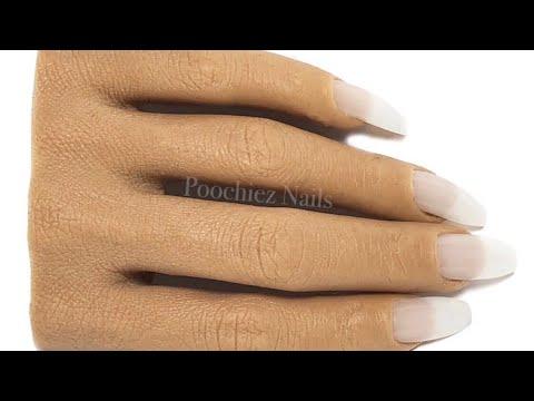 Videos de uñas - MANO DE PRÁCTICA PARA UÑAS / Poochiez nails realistic silicon practice hand full unboxing