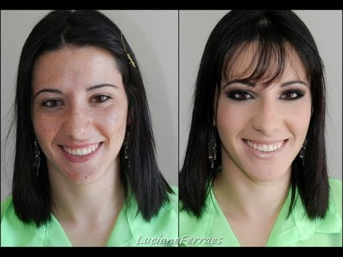 Video: Como corrigir a pele com acne por Luciane Ferraes