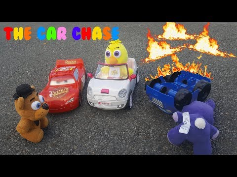FNAF Plush Episode 26 The Car Chase