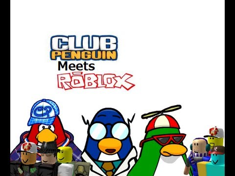 Club Penguin Meets Roblox (Part 1)