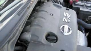 Attempt to Start Nissan Altima 2.5 S w/ Blown Engine After Sitting 8 Months