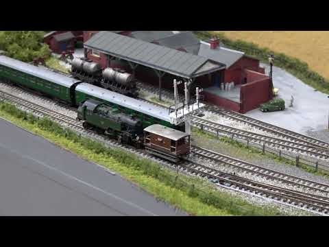 Modelling Railroad Train Track Plans -Superb Derby Model Railway Exhibition 2018 – Part 5