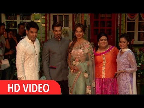 Karan Singh Grover & Bipasha Basu On Set Of The Kapil Sharma Show