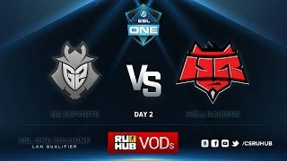 HR vs G2, game 1