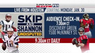 Live from Houston starting Monday, Jan. 30 | UNDISPUTED